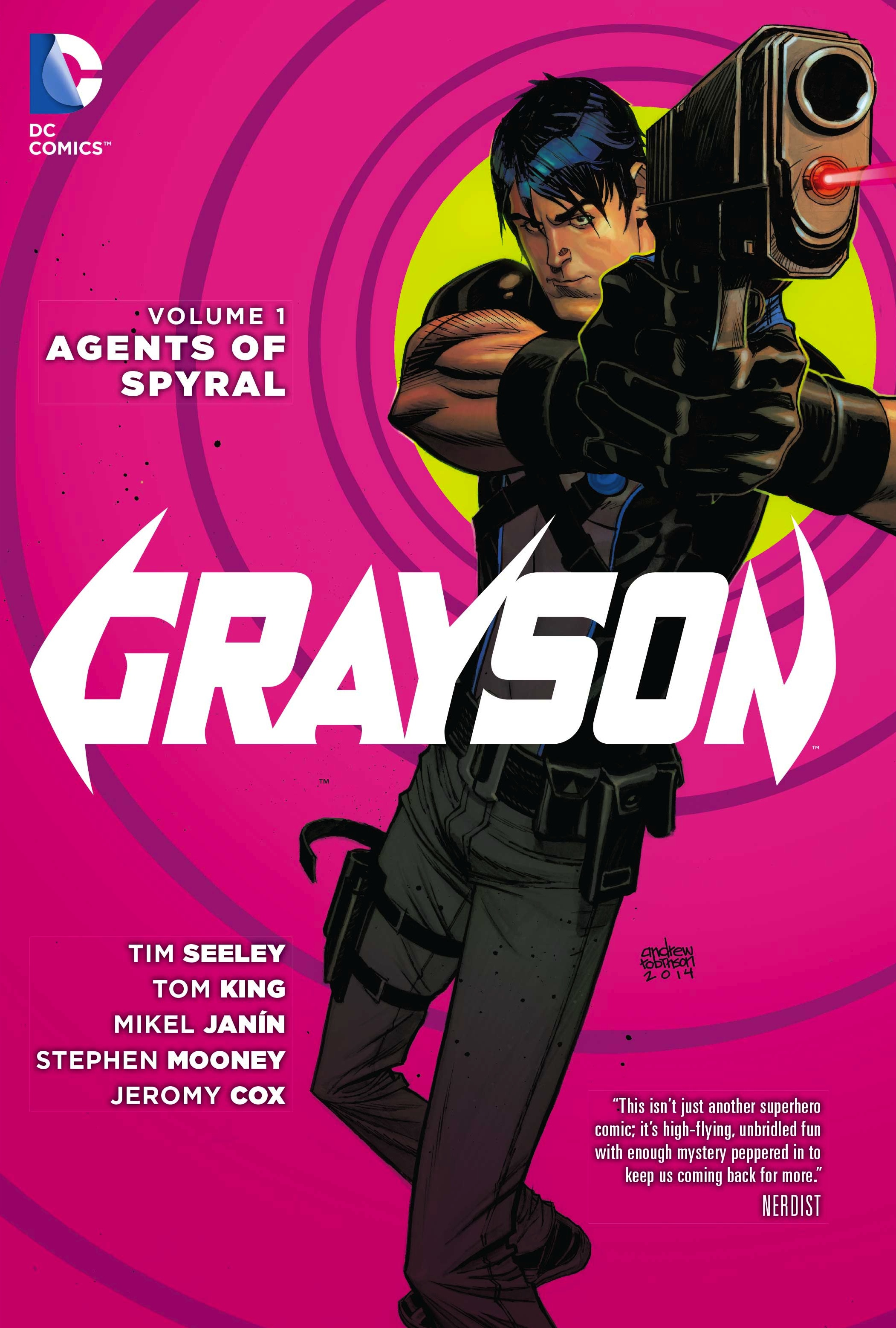 Grayson Agent of Spyral