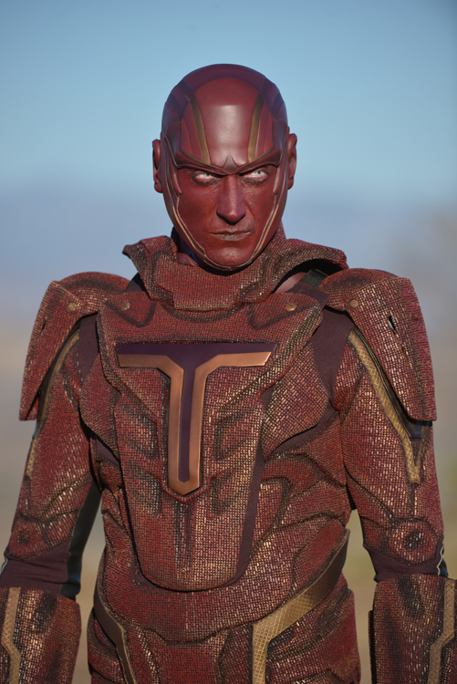 First Image Of Red Tornado For Supergirl TV Series