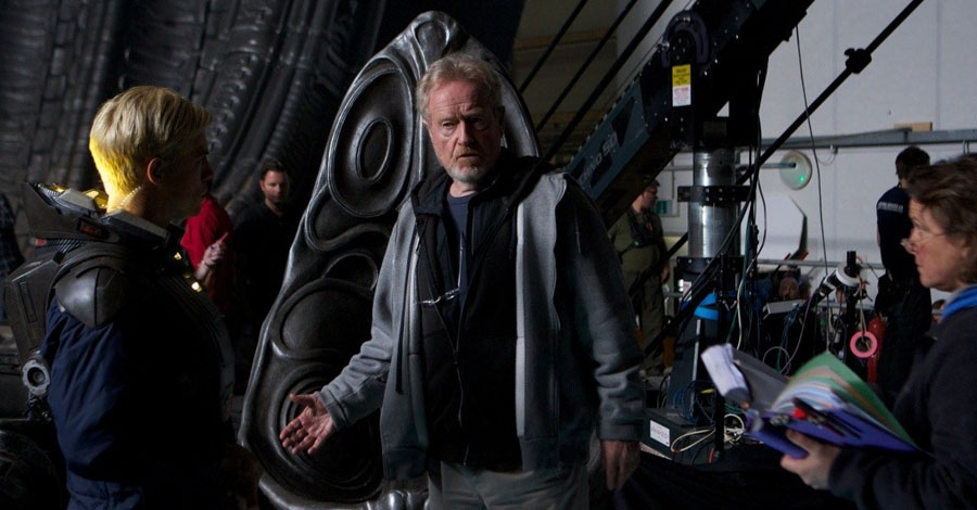 Ridley Scott Reveals Prometheus 2 Title And More