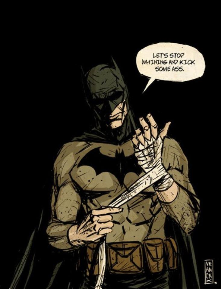 the thing about Batman 2
