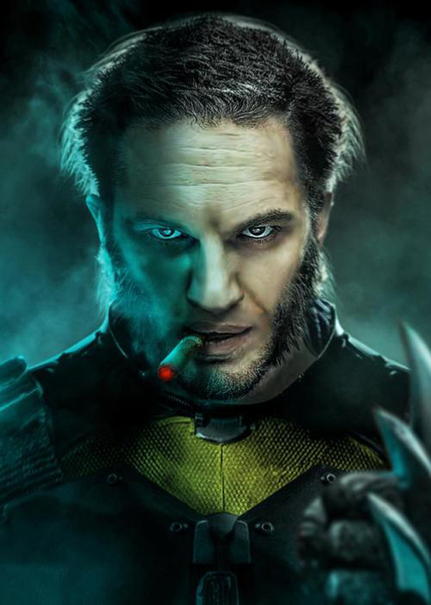 Hugh Jackman Wants Hardy As Wolverine