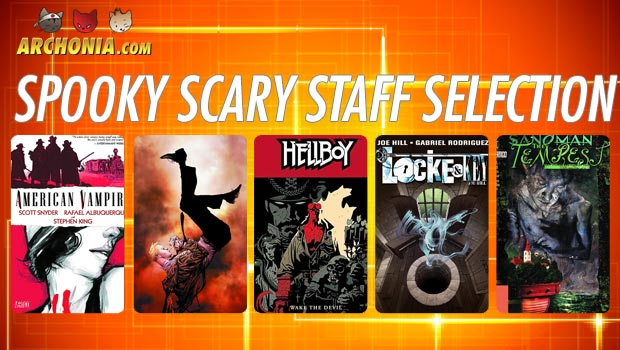 Spooky Scary Comic Staff Picks