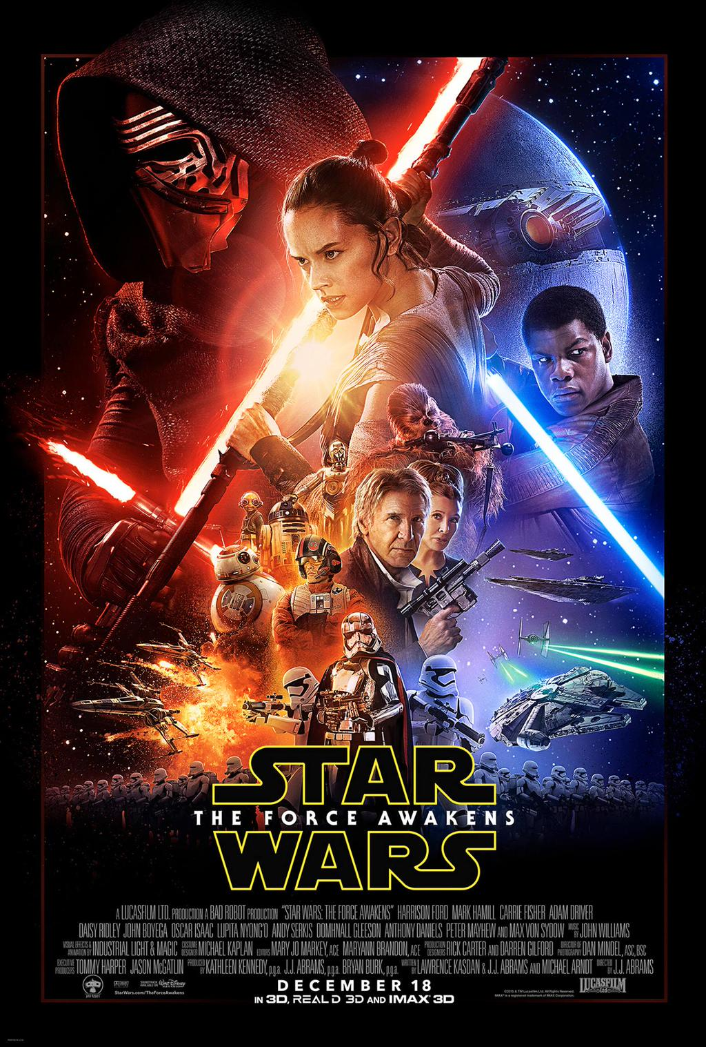 Star Wars Episode VII Final Poster