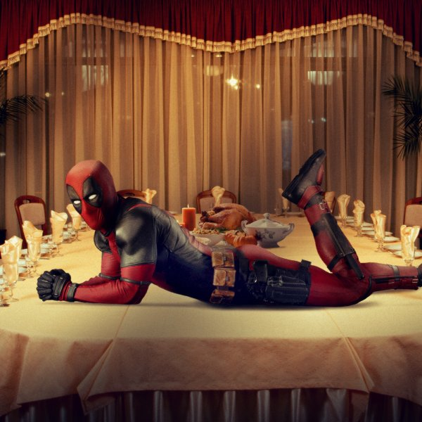 Deadpool Thanksgiving Greetings