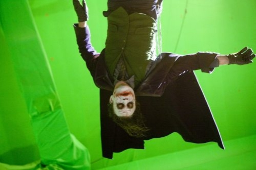joker behind the scenes