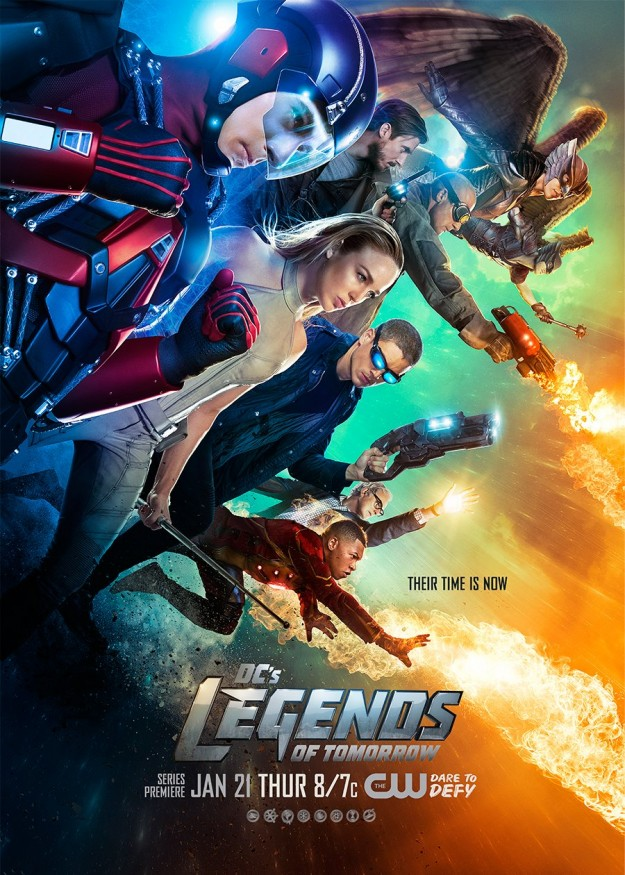 New legends of Tomorrow Trailer and Poster