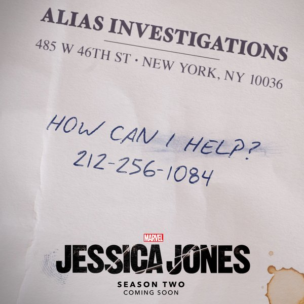 Jessica Jones Season 2 Teaser