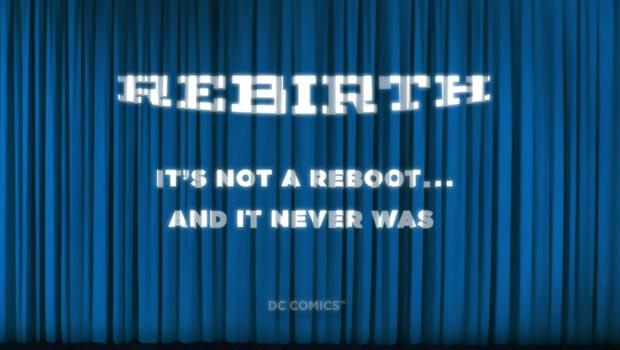 DC Comics Rebirth Information