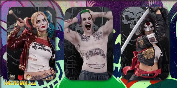 A Close Look At DC Collectibles Suicide Squad Statues
