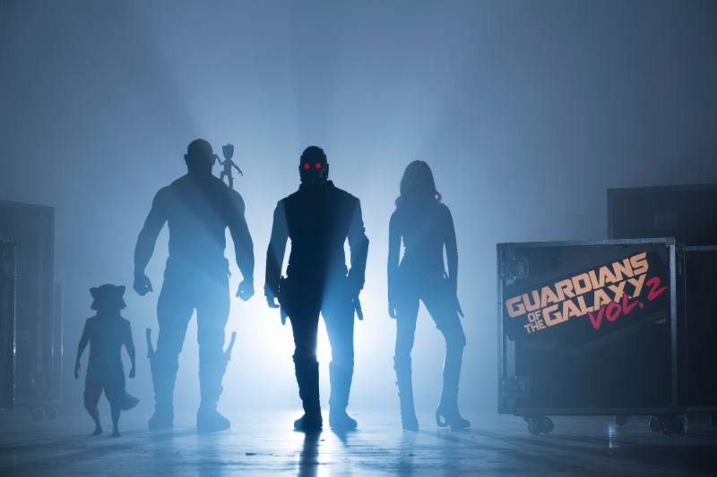 First Image of Guardians of the Galaxy