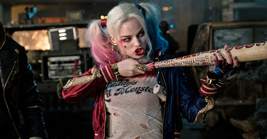 Margot Robbie Tried The Classic Jester Outfit For Harley Quinn
