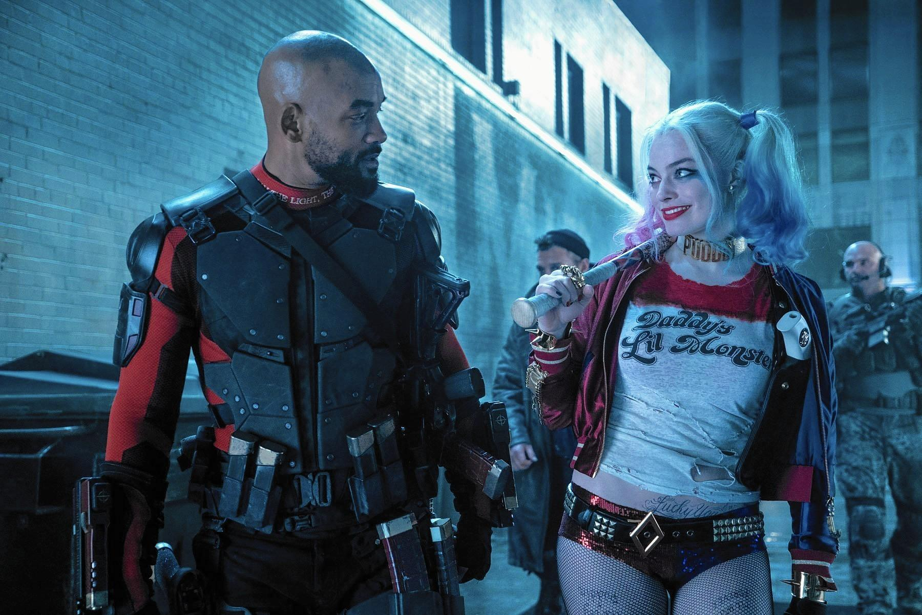 Harley and Deadshot Share A Moment