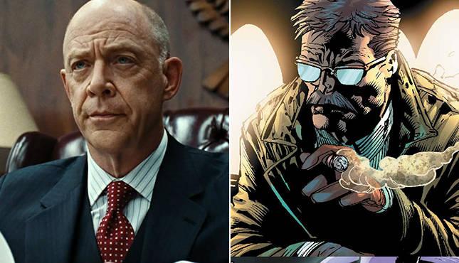 J.K. Simmons Talks About Jim Gordon/Justice League