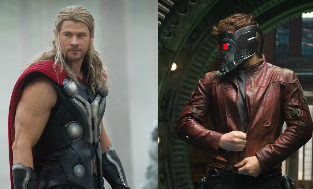 Star-Lord/Thor In Infinity War