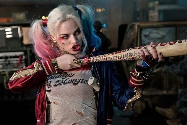 David Ayer/Margot Robbie On Harley Quinn Costume