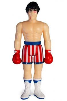 Rocky 4 ReAction Action Figure - Rocky (Beat-Up)