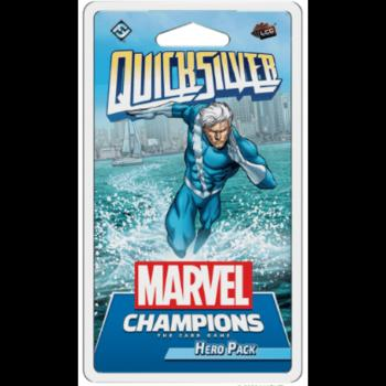 Marvel Champions Living Card Game - 14 Quicksilver Hero Pack