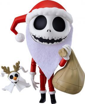 The Nightmare Before Christmas PVC Figure - Nendoroid Jack Skellington Sandy Claws Ver.