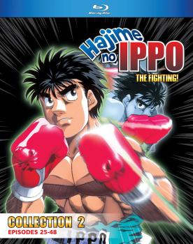 Hajime No Ippo The Fighting! TV Series Collection 02 Blu-ray
