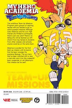 My Hero Academia: Team-Up Missions vol 01 GN Manga
