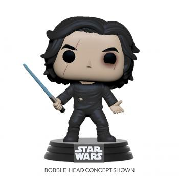 Star Wars Episode IX Pop Vinyl Figure - Ben Solo with Blue Saber