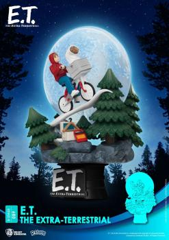 E.T. the Extra-Terrestrial D-Stage PVC Diorama - Iconic Movie Scene