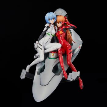 Neon Genesis Evangelion PVC Figure - Rei & Asuka Twinmore Object