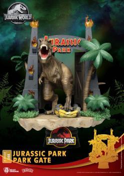 Jurassic Park D-Stage PVC Diorama - Park Gate
