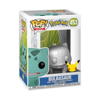 Pokemon Pop Vinyl Figure - Bulbasaur (Silver Chrome)