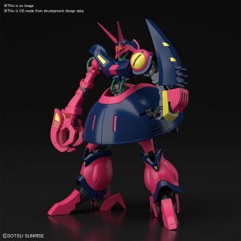 Mobile Suit Gundam Plastic Model Kit - HGUC 1/144 Z-Gundam Baund-Doc