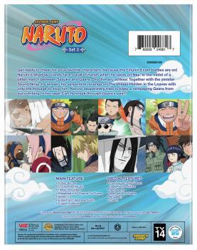 Naruto Set 03 Blu-Ray