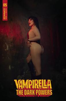 VAMPIRELLA DARK POWERS #5 CVR H HOLLON COSPLAY