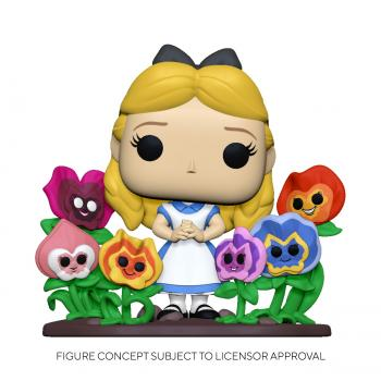 Alice in Wonderland Deluxe Pop Vinyl Figure - Alice with Flowers