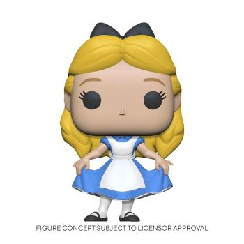 Alice in Wonderland Pop Figure - Alice Curtsying