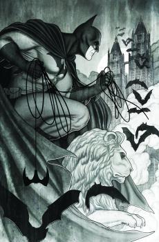 BATMAN BLACK AND WHITE #5 (OF 6) CVR B JENNY FRISON VAR