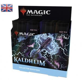 Magic the Gathering TCG Kaldheim Collector Booster Display (12) english