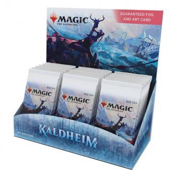 Magic the Gathering Kaldheim Set Booster Display (30) english