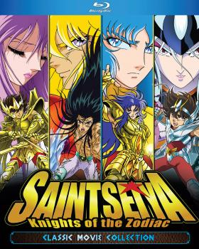 Saint Seiya Classic Movie Collection Blu-ray