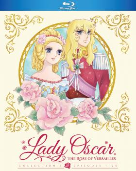 Lady Oscar The Rose of Versailles Collection 01 Blu-ray