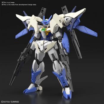 Mobile Suit Gundam Plastic Model Kit - HGBDR 1/144 Gundam Build Divers Re:Rise Gundam 00 Sky Moebius