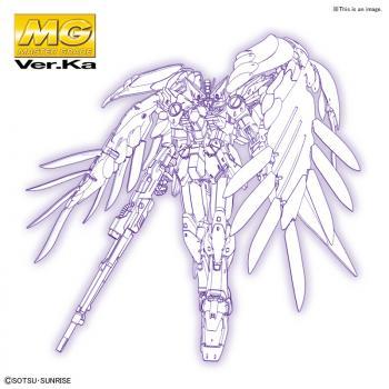Mobile Suit Gundam Plastic Model Kit - MG 1/100 Gundam Wing: Endless Waltz Wing Gundam Zero EW Ver. Ka