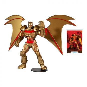 DC Multiverse Action Figure Batman Hellbat Suit (Gold Edition)