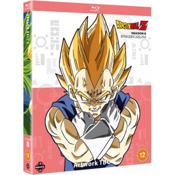 Dragon Ball Z Season 08 Blu-Ray UK