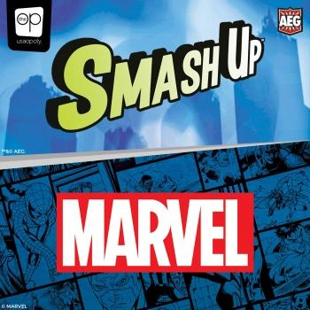 Marvel Card Game Smash Up Marvel English Version