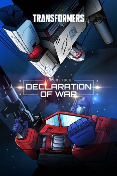 Transformers HC Vol 04: Declaration Of War (Hardcover)