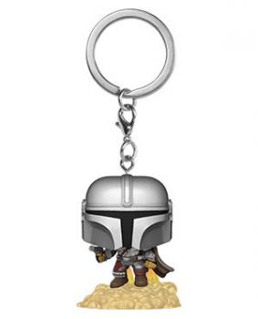 Star Wars The Mandalorian Pocket Pop Vinyl Keychain - The Mandalorian