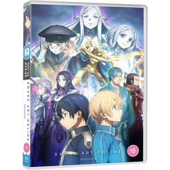 Sword Art Online Alicization Part 02 DVD UK