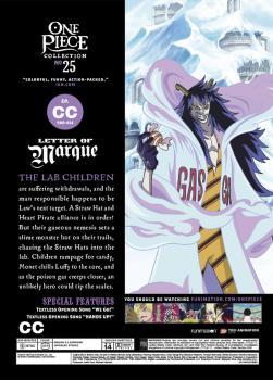 One Piece Collection 25 DVD Box Set Uncut