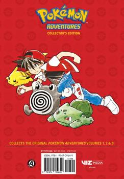 Pokemon Adventures Collector's Edition vol 01 GN Manga