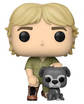 The Crocodile Hunter Pop Vinyl Figure - Steve Irwin with Sui